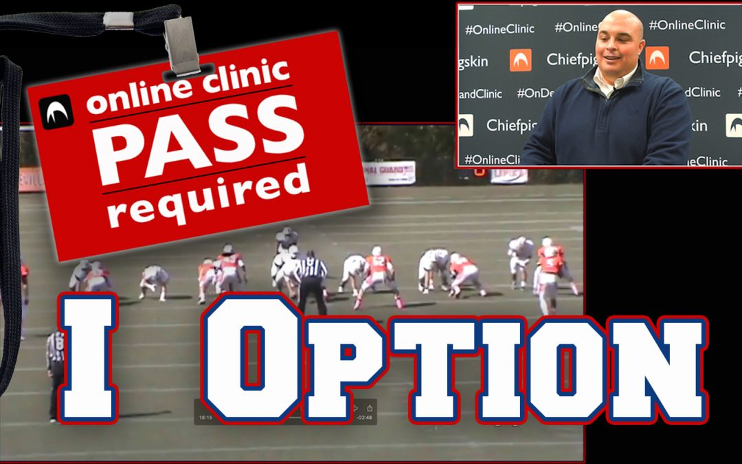 Paul Pitts: Using the I Formation For Veer, Midline, and Belly