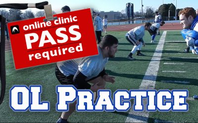 Illinois College: OL Practice Footage