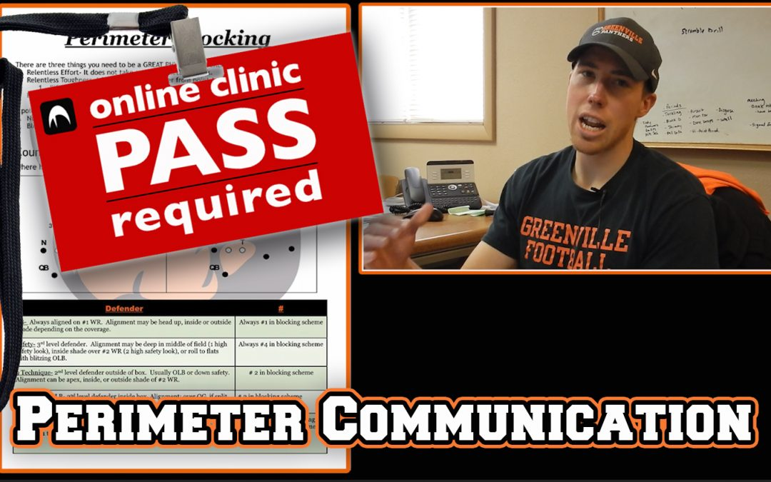 Joshua Flannery: Perimeter Blocking Communication