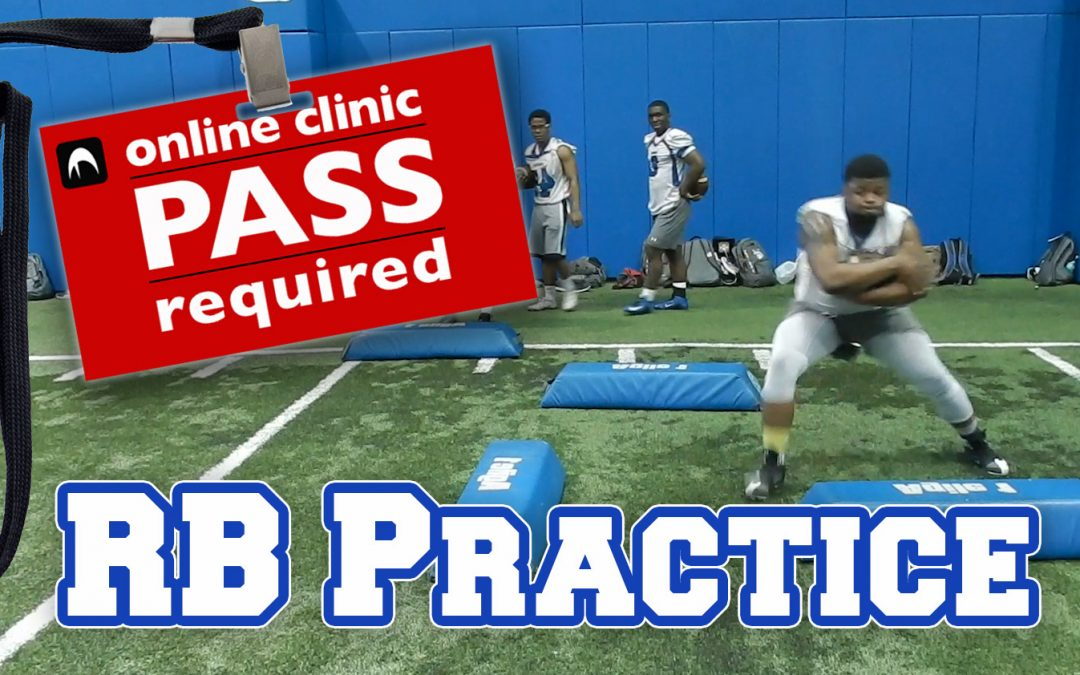 Practice Footage: U of Dubuque RB Drills