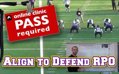 Adam Kiefer: LB Alignment & Assignment to Defend RPOs