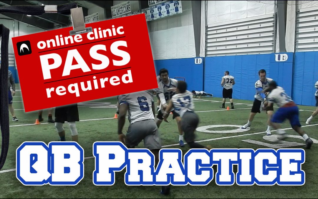 Practice Footage: U of Dubuque Quarterbacks