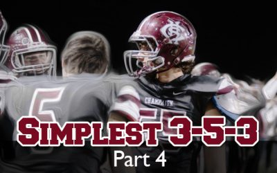 Nate Albaugh – Simplest 3-5-3: part 4 | Blitzing and Coverage