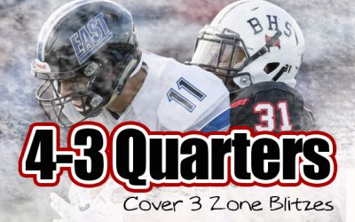 Sean Coultis: 4-3 Quarters Defense – Zone Blitzes