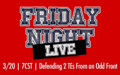 Friday Night Live: Defending Double Tight From Odd Fronts