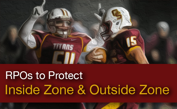 Nick Hart | Protecting the Zone Run Game with RPOs