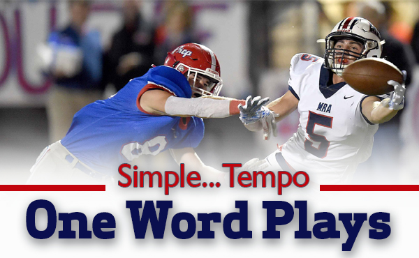 Herbert Davis | Simple, Tempo: One Word Play Calls