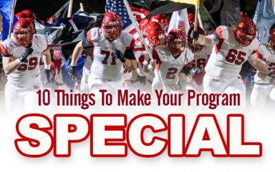 Jim McKee | 10 Things To Make Your Program Special