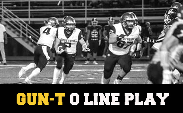 Bo Gould | O Line Play in the Gun-T