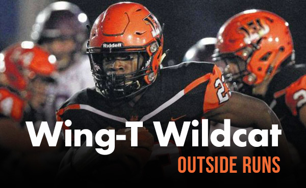 Robbi Howard | Wing-T Wildcat Outside Runs – Play Action
