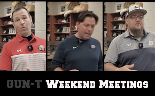 Simpson, Reardon, Gould | Weekend Meetings & Game Planning