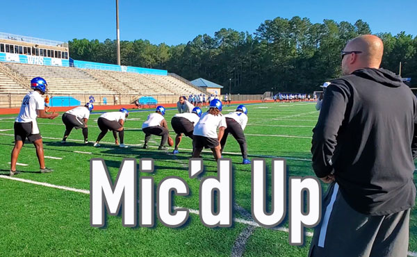 Bobby May | Mic'd Up Practice
